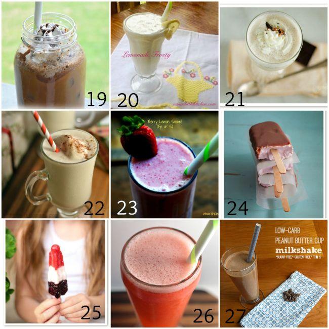 Refreshing Summertime Treats Roundup