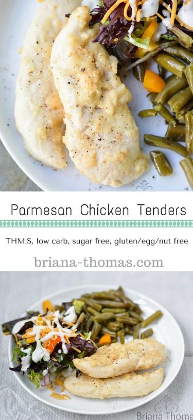 Parmesan Chicken Tenders