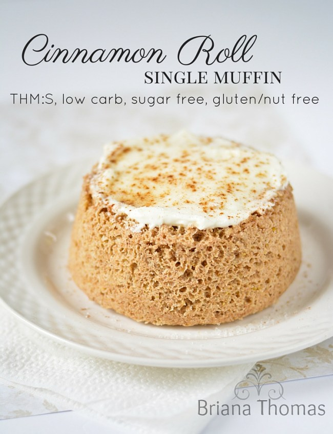 Cinnamon Roll Single Muffin