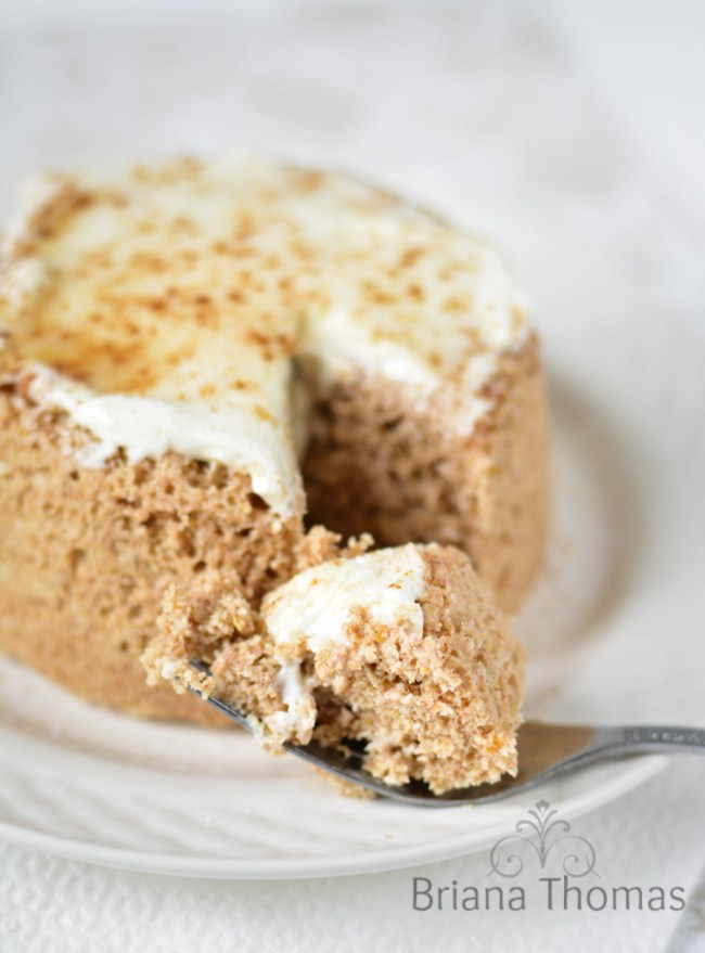Cinnamon Roll Single Muffin - Briana Thomas