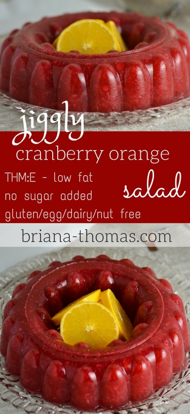 Jiggly Cranberry Orange Salad