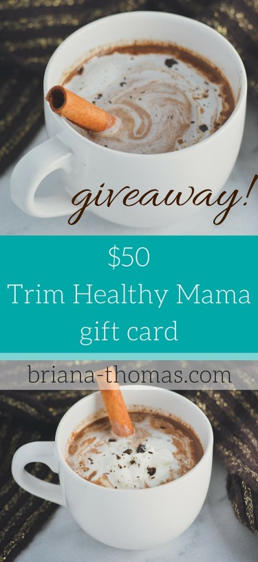 Trim Healthy Mama Gift Card Giveaway