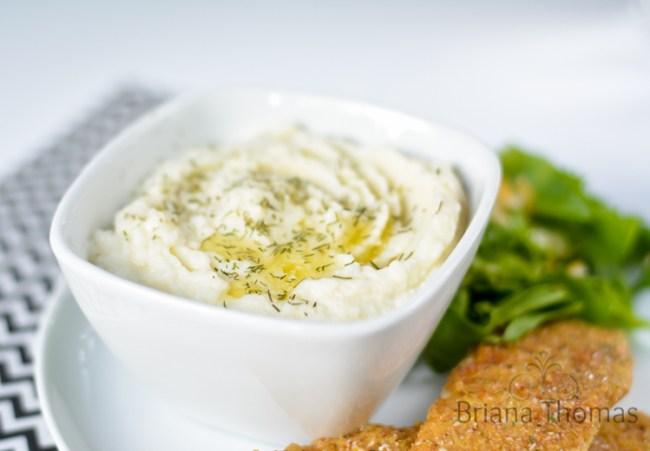 Garlic Mashed Caulitoes
