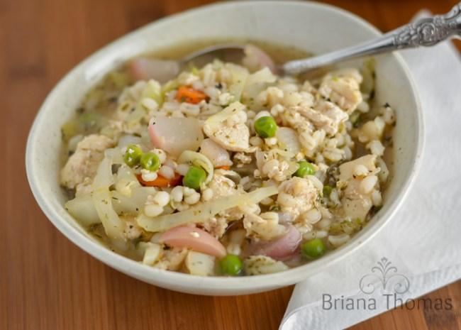 Chicken Barley Veggie Soup