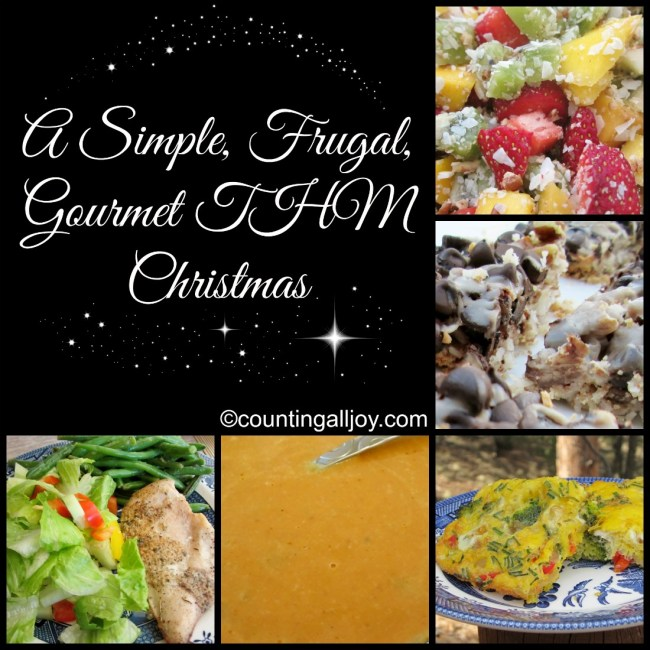A Simple, Frugal, Gourmet THM Christmas