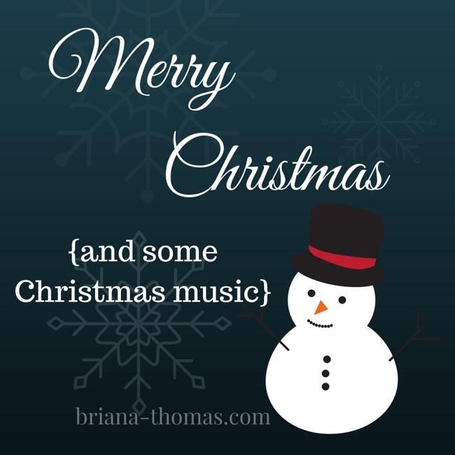 Merry Christmas - and some Christmas music