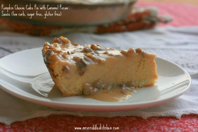 Pumpkin Cheese Cake Pie