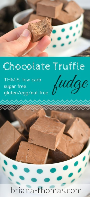 Chocolate Truffle Fudge