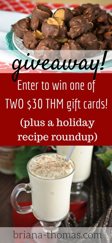 2015 Holiday Recipe Roundup and GIVEAWAY!