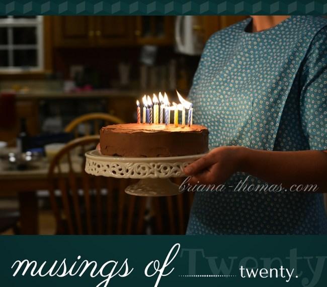 Musings of Twenty