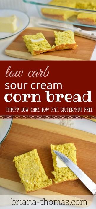 Sour Cream Corn Bread