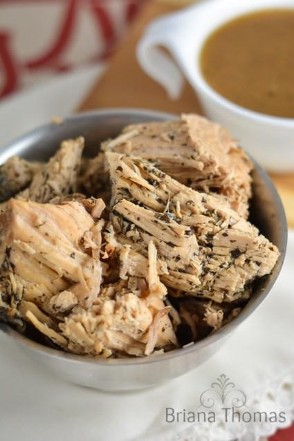 Crockpot Marinated Pork Loin