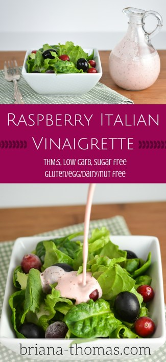 Raspberry Italian Vinaigrette