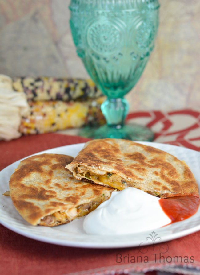 Chicken Cheese Quesadilla