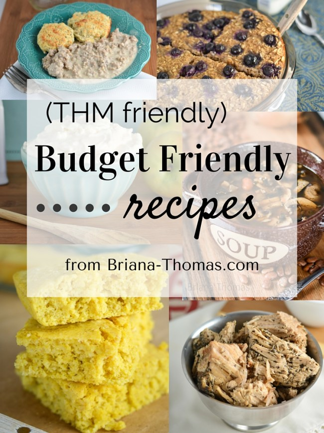 Budget Friendly Recipe Roundup