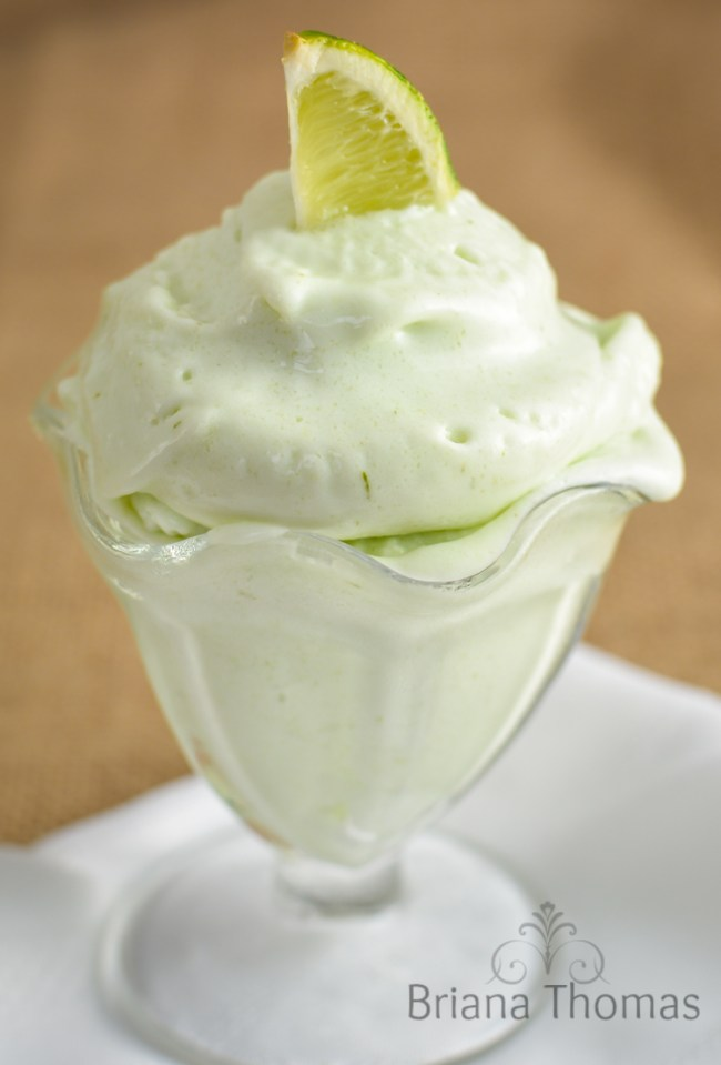 Lusciously Lime Dairy Free Ice Cream