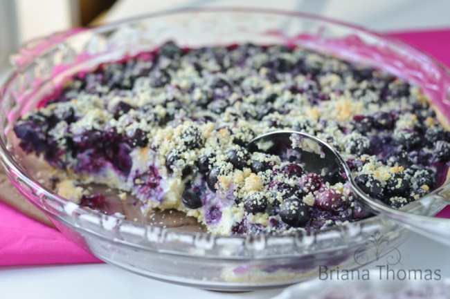 Blueberry Custard Bars