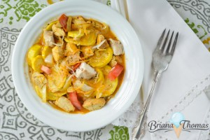 Yellow Squash Sweet Curry