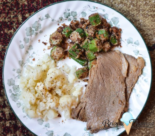 What's On My Plate? (Trip to Kentucky) - click here to see what I ate this week! THM friendly