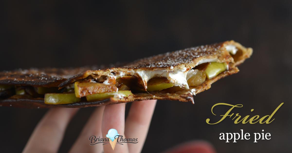 Fried Apple Pie - www.briana-thomas.com