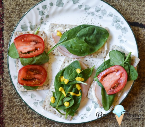What's on My Plate? (Busy Week) - healthy eating ideas from Briana-Thomas.com