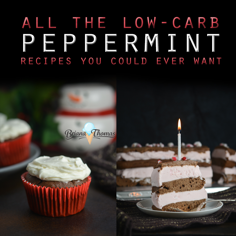 Click here to find all the low-carb peppermint recipes you could ever want! Enjoy a favorite holiday flavor without threatening your waistline! THM friendly