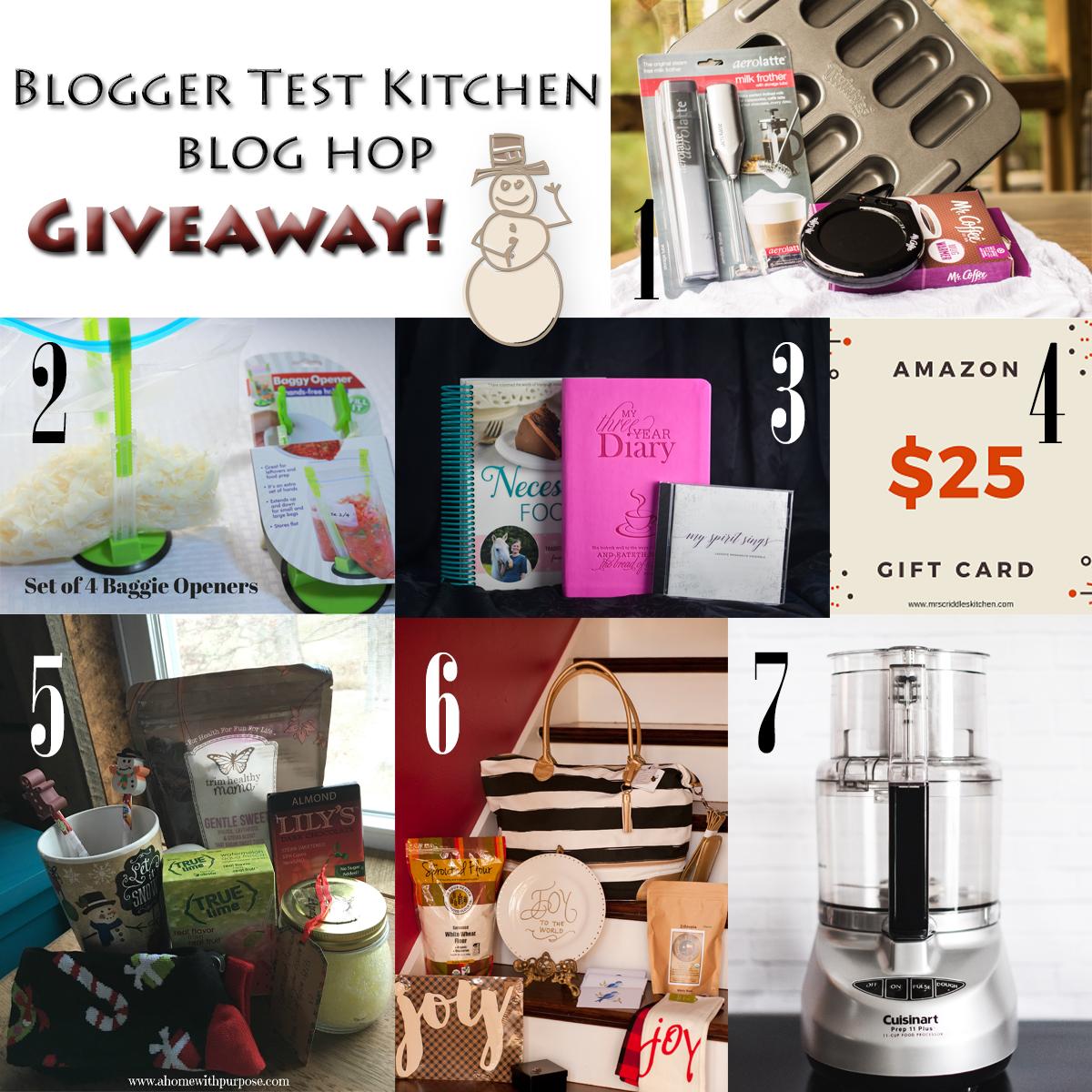 Blogger Test Kitchen Blog Hop Giveaway 2016