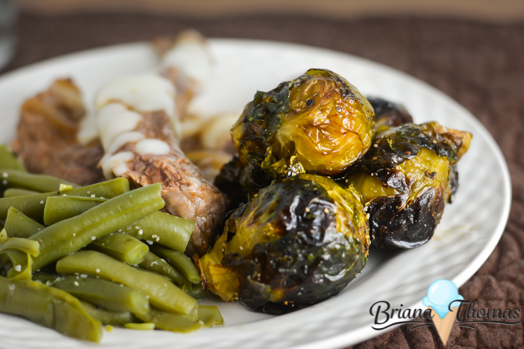 These special roasted Brussels sprouts have a sweet n sour flair with some notes of maple. THM: S, low carb, gluten/egg/dairy/nut free