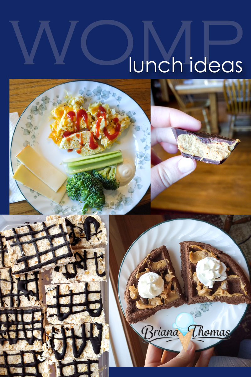 "Check out today's post for some THM-friendly lunch ideas ""in real life""! I decided to just do lunch this week since I'm heading to Africa on Thursday."