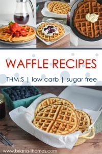 Low-Carb Waffle Recipes: The List