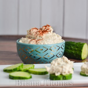 Yummy Salmon Dip Salad
