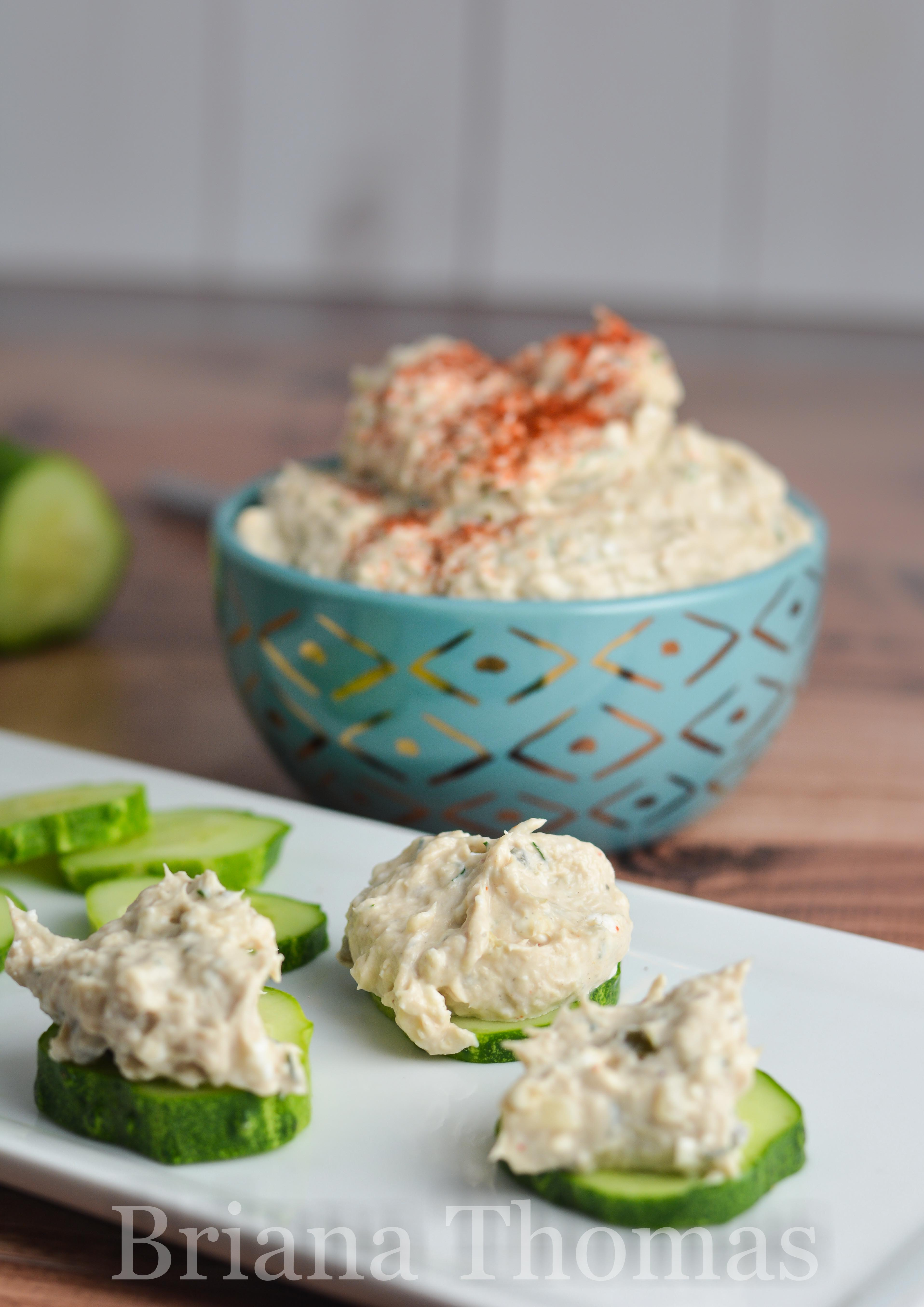 This yummy salmon dip salad can be - you guessed it - a dip or a salad! THM:FP (or S in large amounts), low carb, low fat, gluten/egg nut free