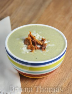 Creamy Broccoli Bacon Chowder