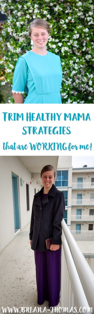 I've actually been losing weight! After being stalled for awhile, I've found some Trim Healthy Mama strategies that are working for me, and I'm excited to share them with you!