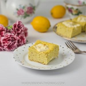 Lemon Cream Cheese Cake