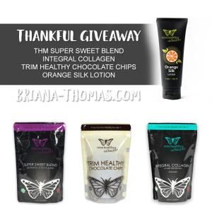 Thankful Giveaway: THM Products Gift Package!