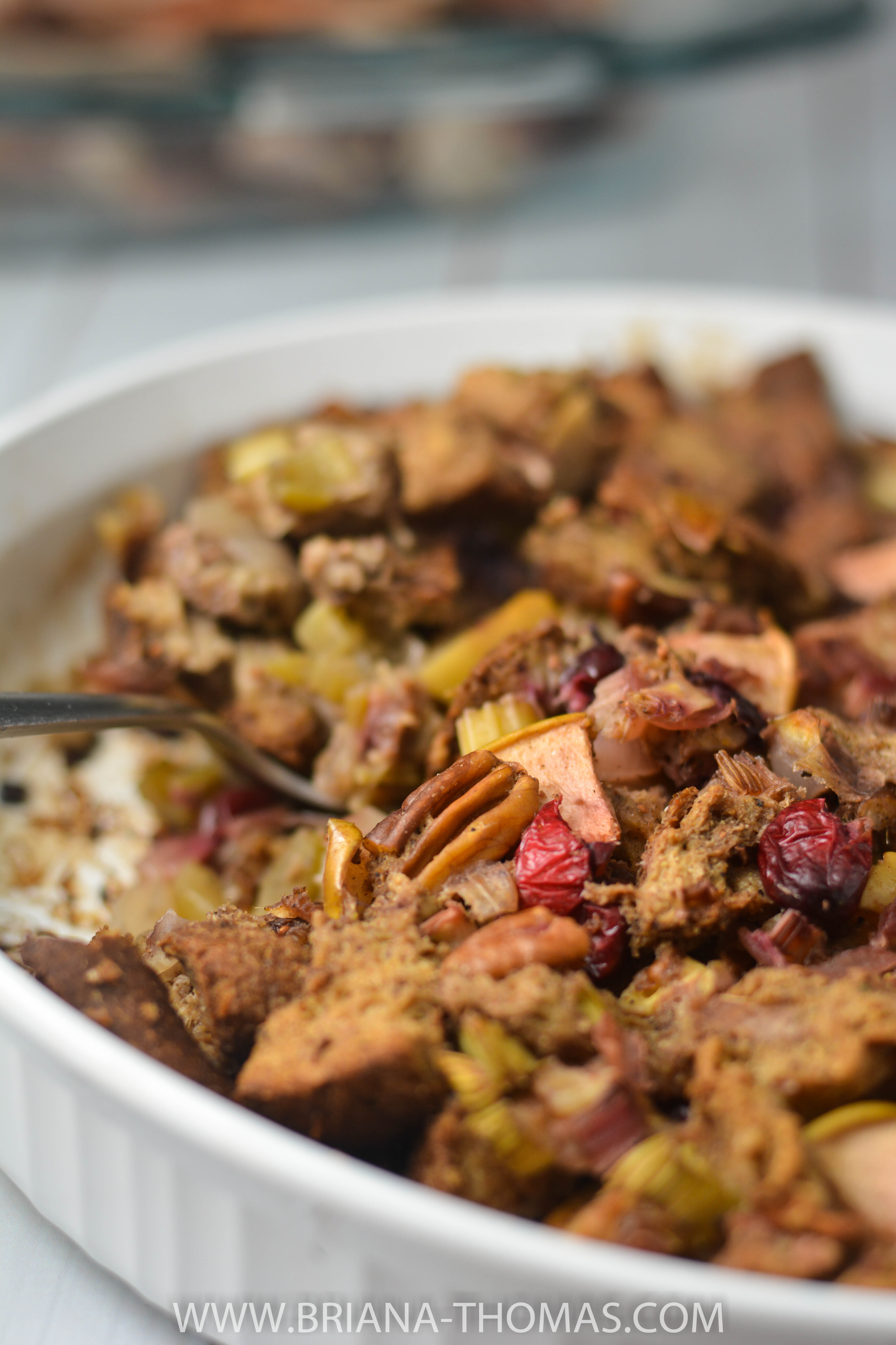 This low-carb deviled turkey tastes like the ones my mom used to make, and the sprouted bread stuffing is delicious! THM friendly, low glycemic