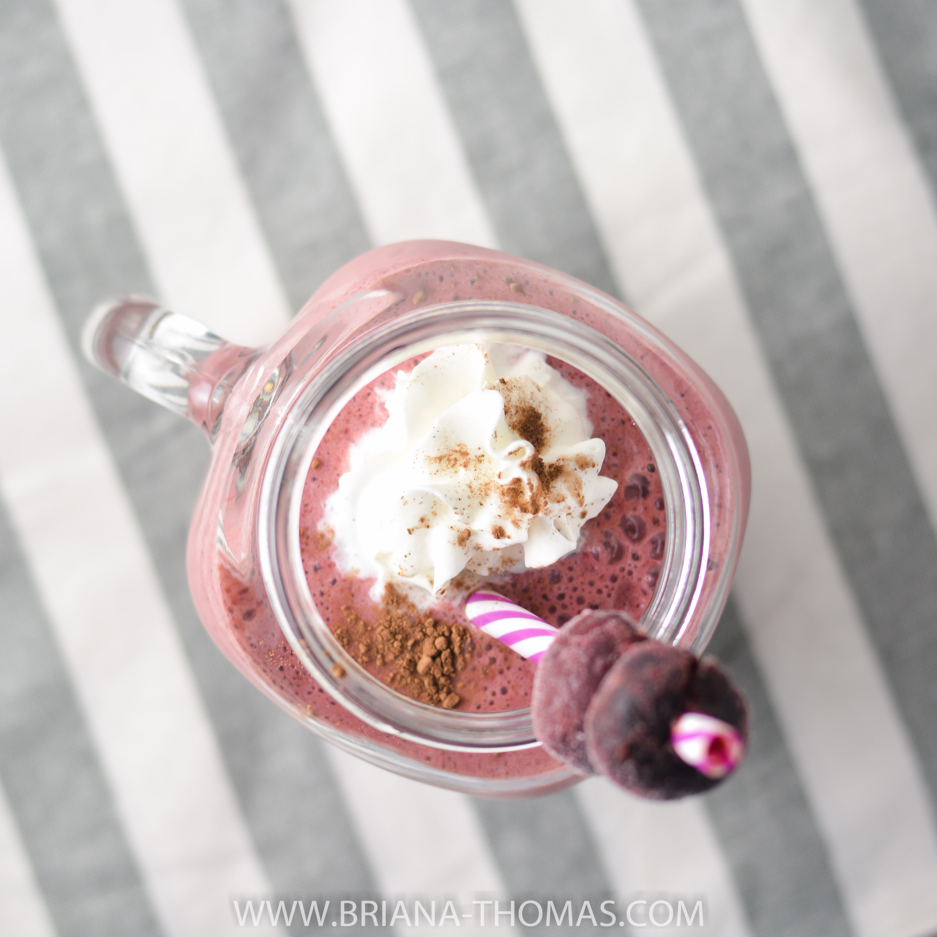 This Sweet Cherry Kefir Shake uses double fermented kefir for 18 grams of protein! It makes a great THM E / Healthy Carbs / Low Fat lunch or snack. NSA, GF, EF, NF
