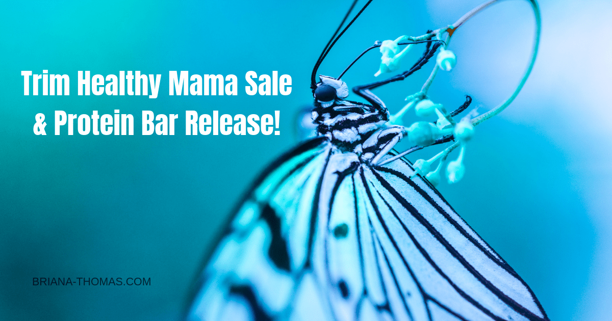 Trim Healthy Mama Sale & Protein Bar Release