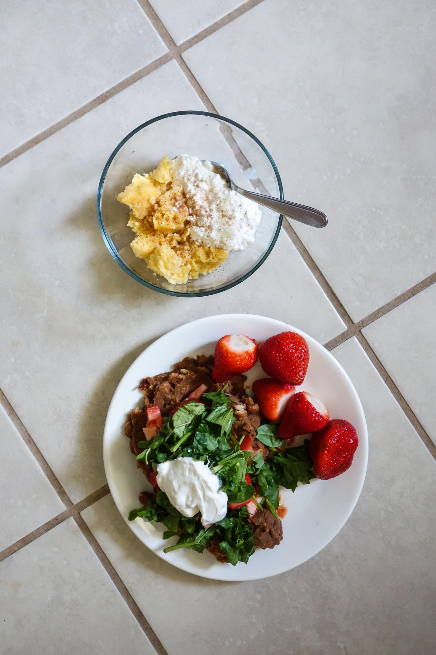 What I Ate - August 2019 - Briana-Thomas.com