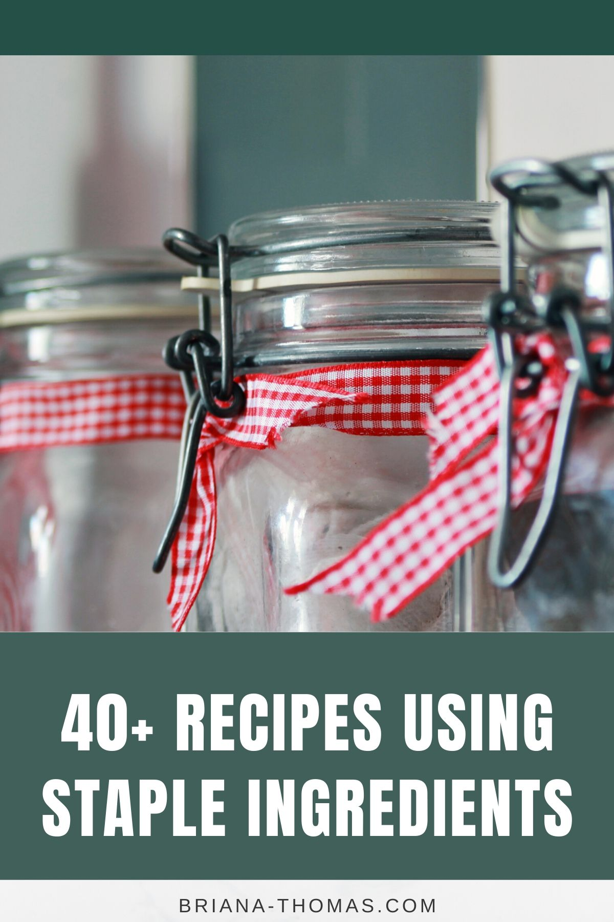 Here's a list of 40+ recipes using staple ingredients - all Trim Healthy Mama (THM) friendly! Beans, rice, canned goods, frozen meats, root veggies, etc.