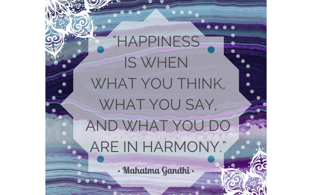 Quotes on Mindfulness:  Gandhi