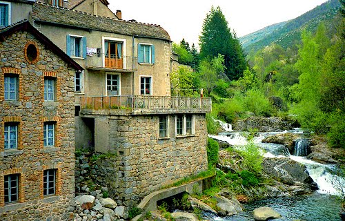 Riverside Home, Cevennes, France