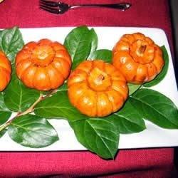 Side Dish – Baked Miniature Pumpkins