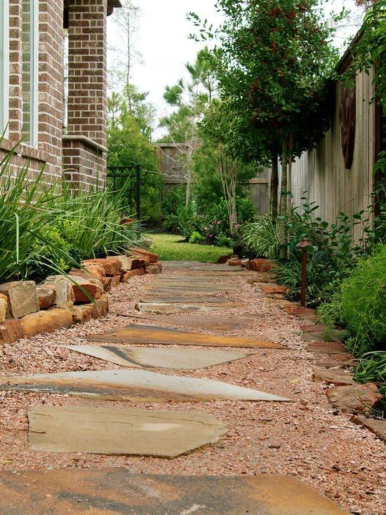 New Orleans Style Backyard Garden (Houston)