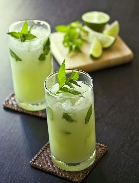 Key Lime Pie Mojito-Nom Nom I Want One Now!