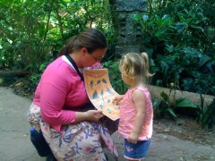 Learning About Birds at Animal Kingdom
