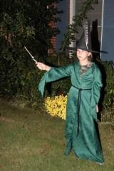Katie Beth as Professor McGonagall