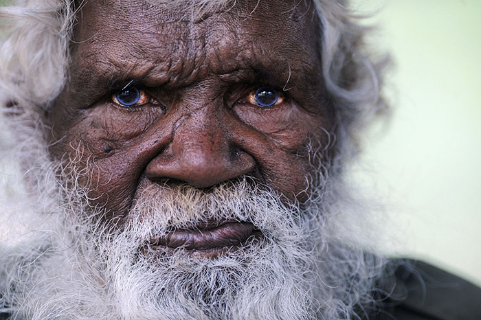 """Tommy - Last of the Kuku Thaypan"" Tommy George is the last of the Kuku Thaypan aboriginal tribe from Laura far north Queensland Australia. He is the last remaining speaker of his tribal language and the last full blood of his tribe. When he dies his language and 42000 years of history will die with him.."
