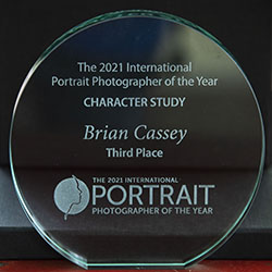 2021 International Portrait Photographer of the Year ... the Book ... with works by Brian Cassey